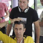 "Srđan Dragojević na setu filma ""Atomski zdesna"""