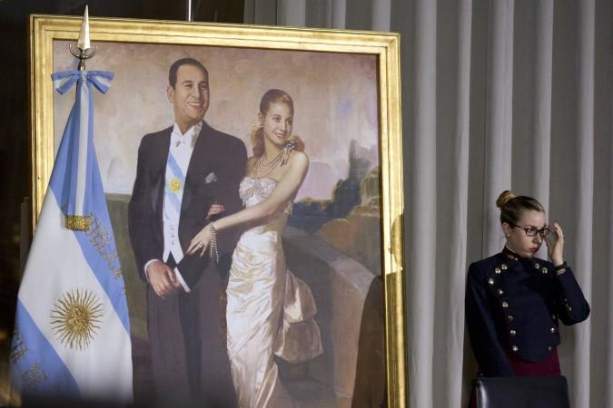 PRESEDAN Peron je jedini predsednik koji je rezidenciju portretisan sa suprugom