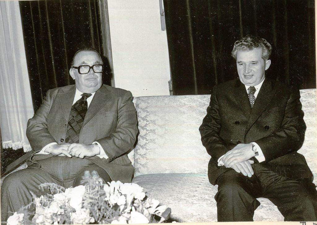 SARADNJA Stane Dolanc i predsednik Rumunije Nikolaj Čaušesku