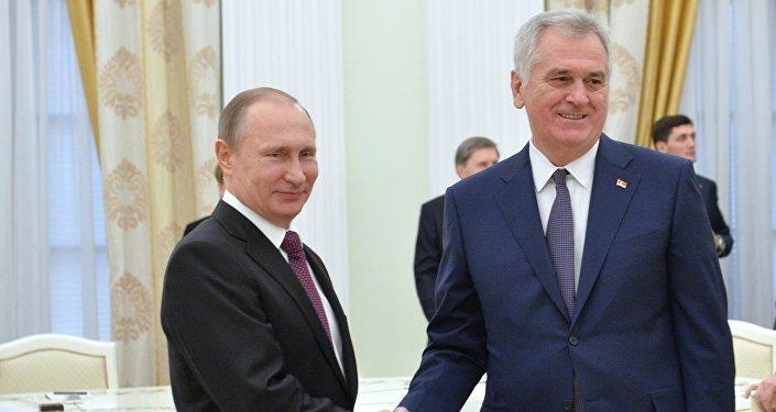 Putin Nikolić Foto: Beta