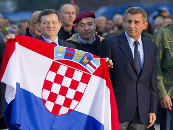 Ante Gotovina (desno)