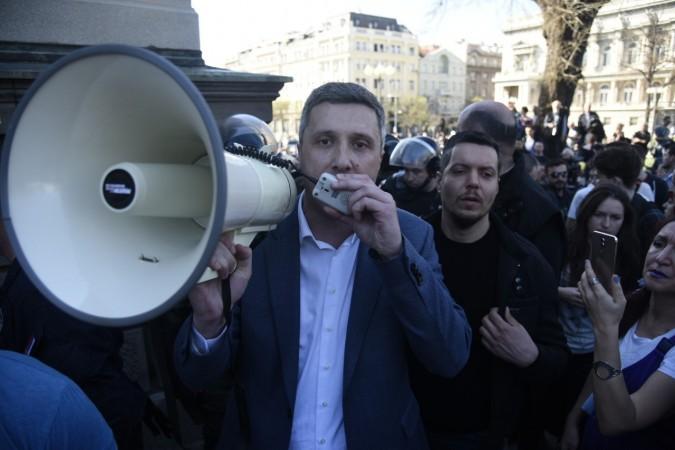 protest, Boško Obradović