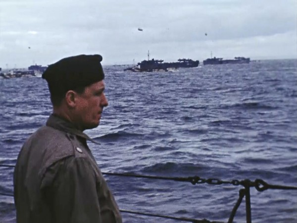 War Footage From the George Stevens Collection at the Library of Congress via AP