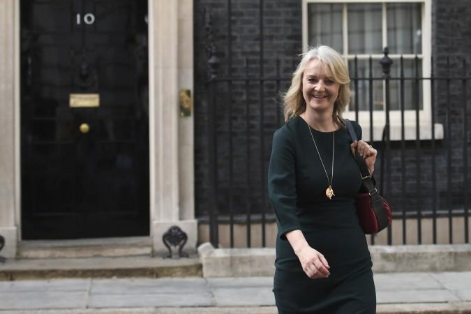 Liz Tras, ministarka trgovine