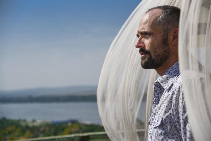 Smederevo - 23 Avgust 2019: Radivoje Rasa Bukvic, glumac, intervju. Foto Oksana Skendzic