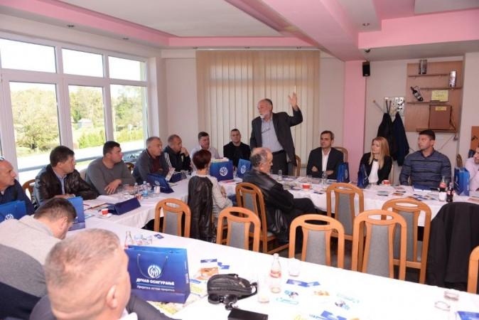Učesnici radionice - aktivni i slušaoci i govornici