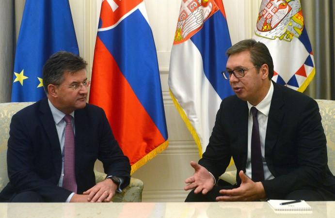 Miroslav Lajčak i Aleksandar Vučić, Predsednistvo Srbije