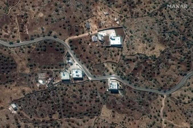 Satelitski snimak rezidencije El Bagdadija EPA-EFE/MAXAR HANDOUT HANDOUT EDITORIAL USE ONLY/NO SALES