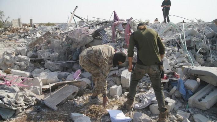 Lokacija na kojoj je navodno ubijen Bagdadi EPA-EFE/YAHYA NEMAH