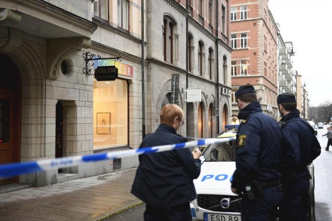 EPA-EFE/ALI LORESTANI  SWEDEN OUT