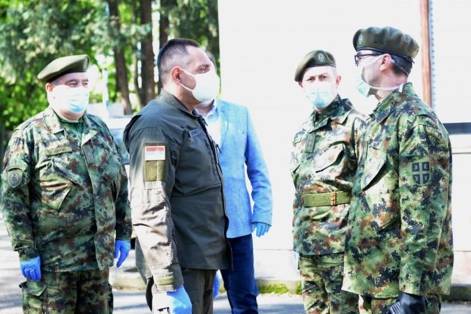 FOTO TANJUG / MINISTARSTVO ODBRANE / DUSKA STEFANOVIC / an