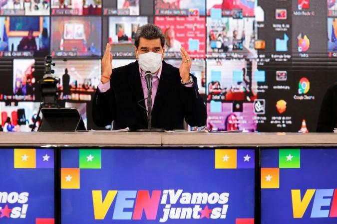 EPA-EFE/Miraflores Press / HANDOUT  HANDOUT EDITORIAL USE ONLY/NO SALES