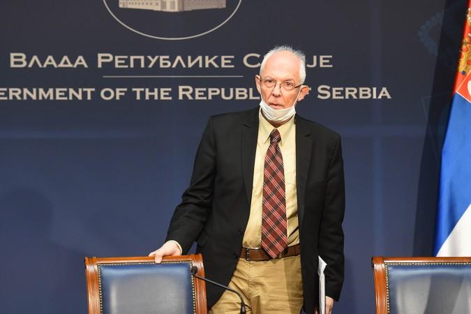 dr Predrag Kon; Foto: TANJUG/ DRAGAN KUJUNDZIC