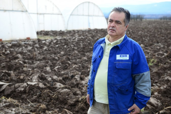 Saša Antonović, nosilac poljoprivrednog gazdinstva iz pirotskog sela Mali Jovanovac