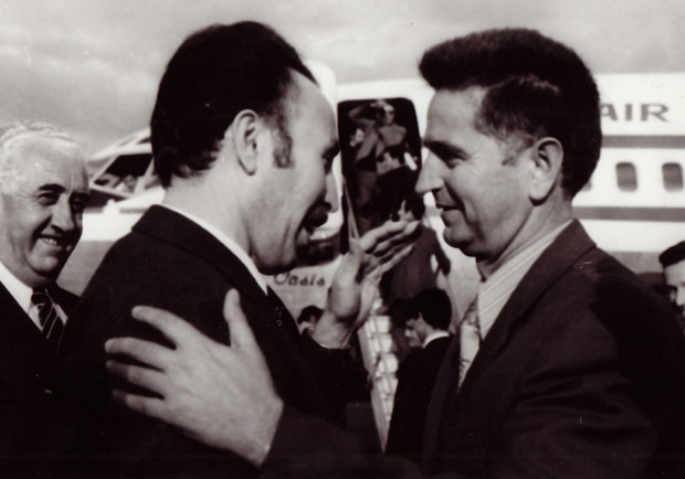 Alžirski predsednik Huari Bumedijen i Labudović