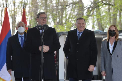 Aleksandar Vučić, Milorad Dodik, koronavirus, Covid-19