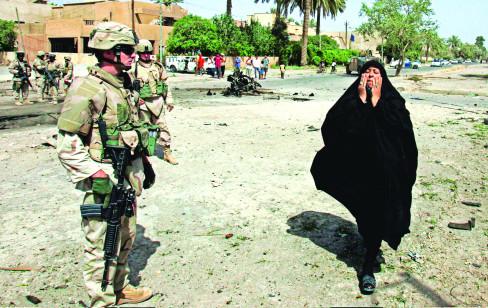 rat, bliski istok