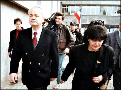 Slobodan Milošević i Mirjana Marković