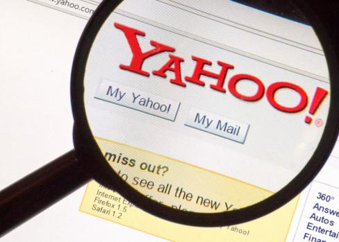 Yahoo, internet, platforma