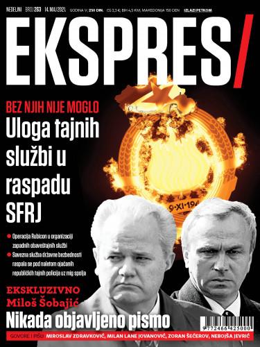 Naslovna strana Ekspresa - službe