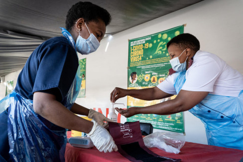 koronavirus u Africi