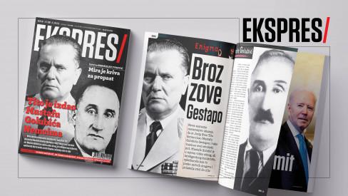 Josip Broz Tito i Mustafa Golubić