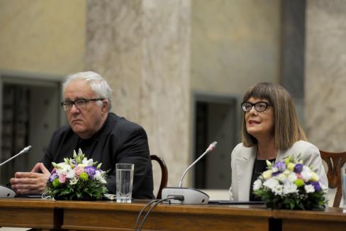 Vladimir Kostić i Maja Gojković