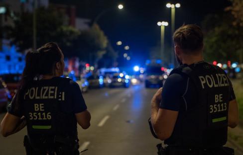 Berlin, policija