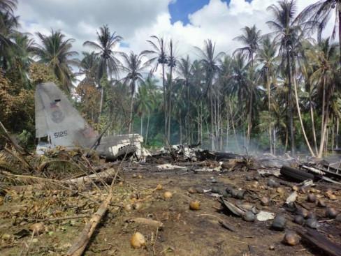 Srušeni filipinski vojni avion