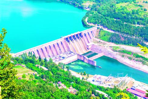 Jezero Perućac 25.8.2021.