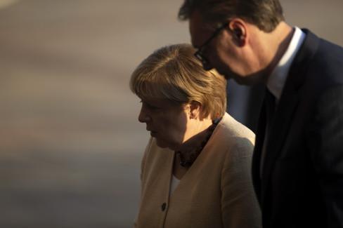 Vučić i Merkel