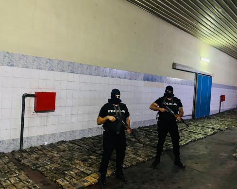 Zaplena kokaina u Crnoj Gori 6.9.2021.