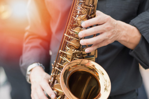 saksofon, muzika