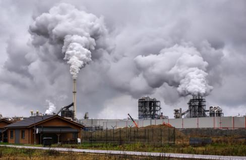 zagađenje, vazduh, fabrike
