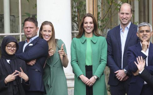Princ Vilijam i Kejt Midlton 14.10.2021.