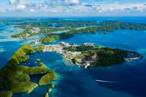 Palau, ostrva